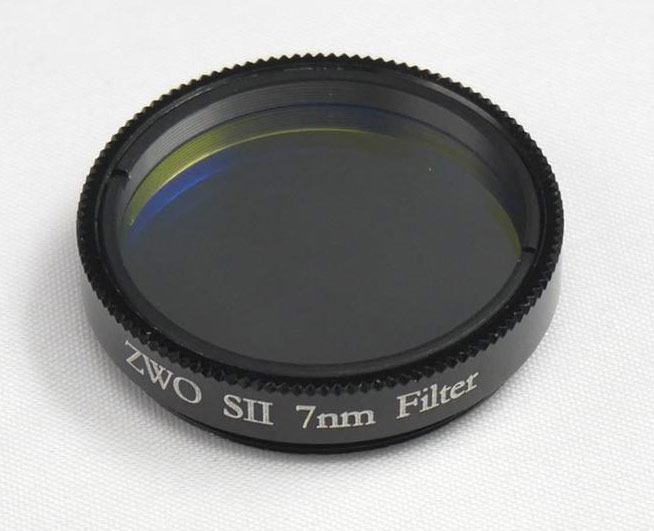 ZWO SII 1.25 inch Narrow Band Filter