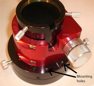 Flange Mounting Holes