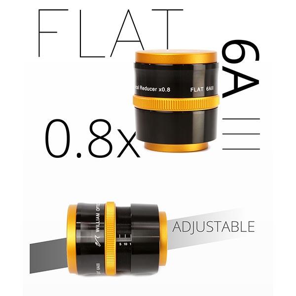 Flat6AIII Adjustable Design