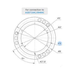 ASI071MC-094MC Flange