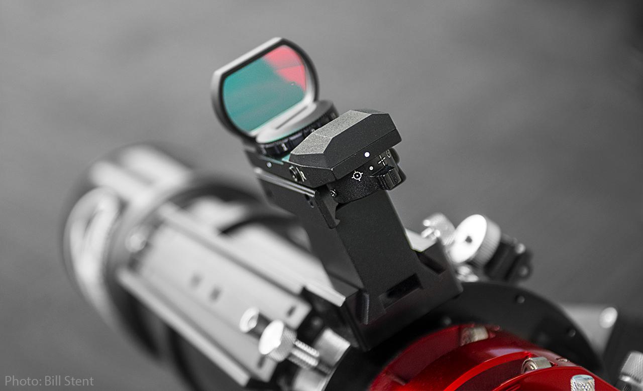 Rear view on scope